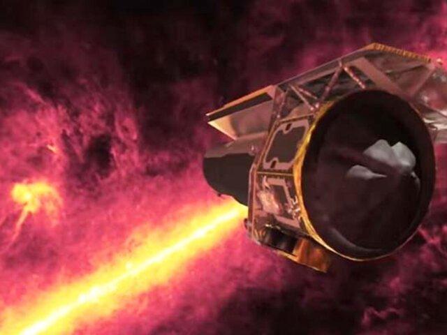 NASA clausurará el Telescopio Espacial Spitzer, uno de sus grandes observatorios