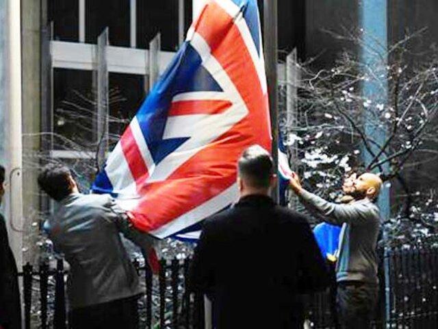 Brexit: Unión Europea retira la bandera británica de sus instituciones