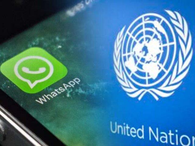 La ONU prohíbe a sus funcionarios usar WhatsApp