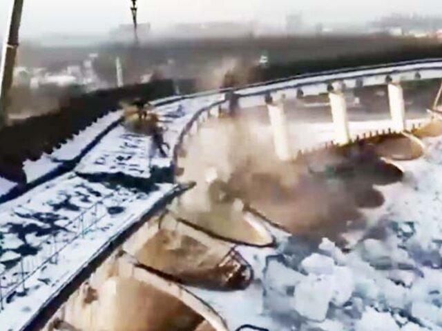 Rusia: una persona muerta tras el derrumbe del techo de un complejo deportivo