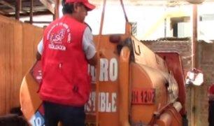 SMP ejecutó operativo contra distribución de combustible en condiciones peligrosas