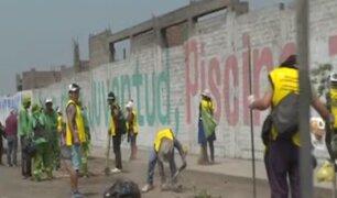 Santa Anita: más de 300 reos que cumplen condena realizaron trabajos comunitarios