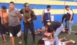 El Agustino: capturan a cuatro integrantes de ''Los Malandros de Cahuide''