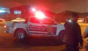 Callao: sicarios acribillan a dos hombres dentro de una camioneta