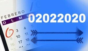 """02/02/2020: será uno de los 55 días """"capicúa"""" del milenio"""