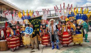 Virgen de la Candelaria: internos realizan vistoso concurso de comparsas