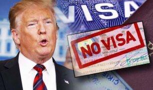 EEUU amplía el veto migratorio a otros seis países