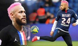 Neymar sorprendió con su nuevo look en el PSG