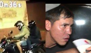 Dos presuntos raqueteros fueron capturados en medio de una balacera a espaldas del Congreso