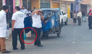 SMP: mototaxista falleció por bala perdida durante balacera