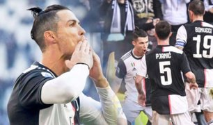 Cristiano Ronaldo anotó su gol 50 con la Juventus