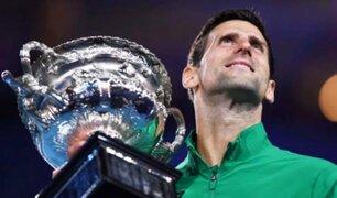 Novak Djokovic ganó su octavo Abierto de Australia y es otra vez el N° 1