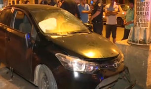 La Victoria: conductor se atrinchera en su vivienda tras causar accidente