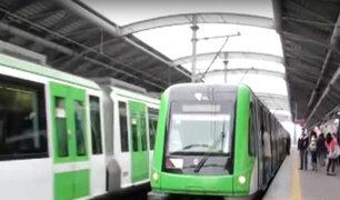 Metro de Lima: ATU llama a pasajeros a respetar distancia para evitar contagios
