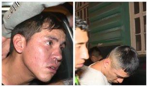 Persecución en Cercado de Lima: 'raqueteros' fueron detenidos tras balacera