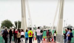 Puente de la Amistad aún no es inaugurado y San Isidro mantiene reja cerrada