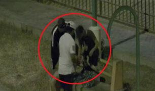 Trujillo: delincuentes armados asaltan a enamorados en parque