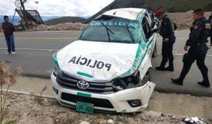 Cajamarca: investigan muerte de tres policías tras despiste de patrullero