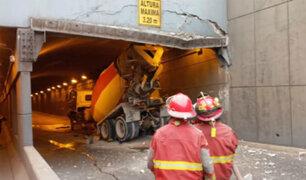 Accidente en Óvalo Higuereta: ¿quién pagará por los daños en el túnel?