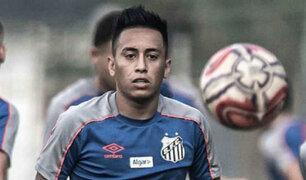 Christian Cueva pide a la FIFA rescindir contrato con Santos por retraso salarial