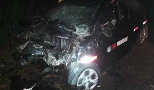 Trujillo: al menos ocho heridos deja choque de autos en Laredo