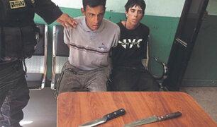 Capturan a extranjeros acusados de robo a mano armada en Lambayeque
