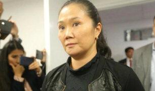 Keiko Fujimori: hoy analizan solicitud de cese de prisión preventiva por Covid-19