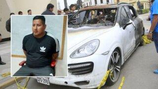 Capturan a sicario implicado en atentado contra Gerald Oropeza