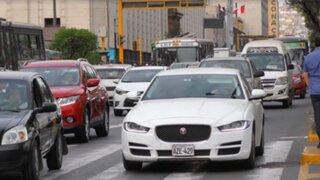 MTC prohibirá importación de vehículos usados con más de 2 años de antigüedad