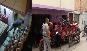 Callao: vecinos aterrados por local de venta de gas sin medidas de seguridad
