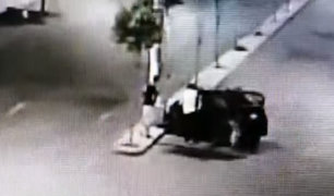 La Victoria: mujer quedó herida de gravedad tras accidente protagonizado por taxista