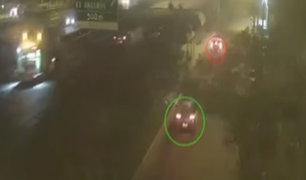 Surco: delincuentes dispararon contra patrullero para escapar