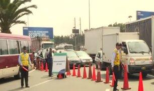 La Molina: retiro de casetas de peaje ocasiona gran caos vehicular