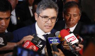 "Domingo Pérez sobre informe pericial hallado en local de FP: ""Aparentemente favorecía a Keiko"""