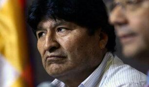 Evo Morales: expresidente formalizó su candidatura al Senado de Bolivia