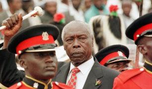 Falleció Daniel Arap Moi, expresidente de Kenia que estuvo 24 años en el poder