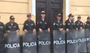 Fuerza Popular: allanamiento a local principal continúa con fiscal Pérez