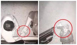 Policía saluda a cámara tras ser captado recibiendo coima en Piura