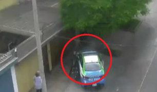 Surco: detienen en espectacular persecución a motociclista tras desacato a la autoridad