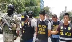 """Caen """"Los Marcas de Cercado"""": policía atrapó a la peligrosa banda cuando iba a robar $8 mil"""