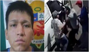 Comas: vecinos capturan a sujeto que asaltó a conductor de furgoneta