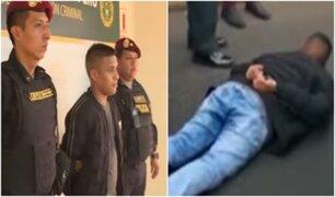 Detienen a sujeto que robó camioneta en La Victoria tras intensa persecución