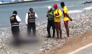 Miraflores: hallan cadáver de mujer en playa Redondo