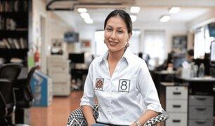 Arlette Contreras propone cadena perpetua para feminicidas en el Perú