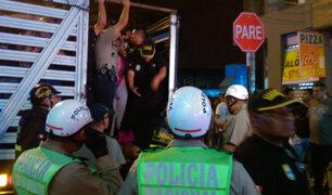 Santa Anita: realizan control de identidad a 800 personas entre peruanos y extranjeros