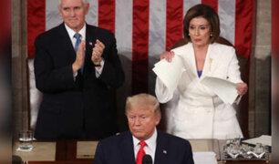 ¿Quén es Nancy Pelosi, la política que rompió el discurso de Trump mientras él lo declamaba?