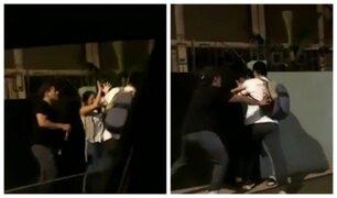 Agresión en el Rímac: sujeto aparentemente ebrio insulta y golpea a mujer