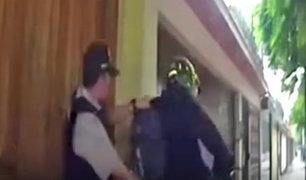 Surco: sujeto que manejaba moto sin placa intentó huir de serenazgo