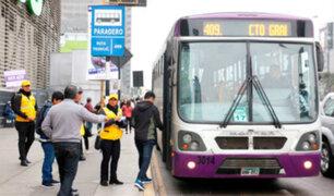SJL: hombre murió atropellado por un bus del Corredor Morado