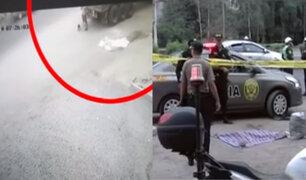 Ate: tráiler que aplastó a niña fue retirado del lugar del accidente antes del peritaje